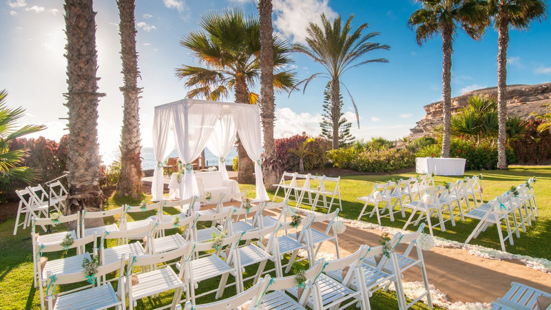 wedding area in Tenerife